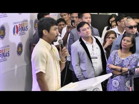 Senator-elect Manny Pacquiao on absences: I'll do my best