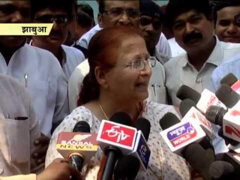 Sumitra Mahajan launches Clean India movement at Rajbara