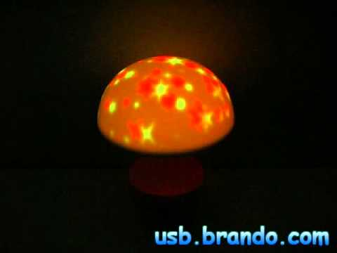 USB Mushroom Touch-Sensitive Lamp with Natural Sound