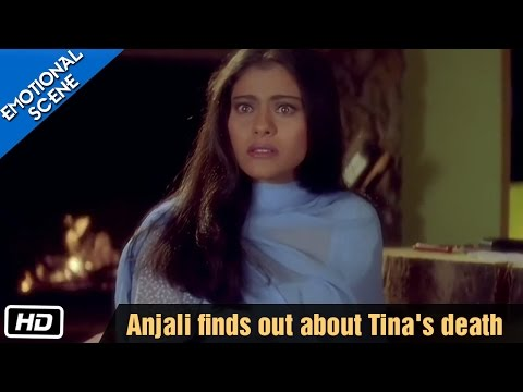 Anjali Comes To Know About Tina's Death - Kuch Kuch Hota Hai - Kajol, Shahrukh Khan video