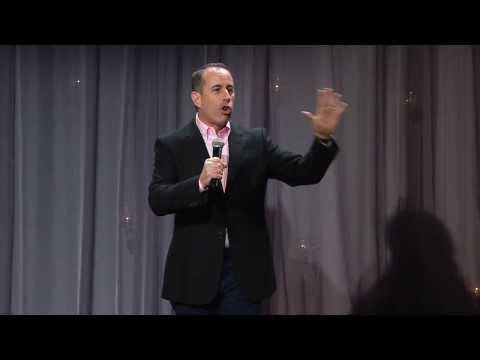 Jerry Seinfeld talks Transcendental Meditation at David Lynch Foundation Gala