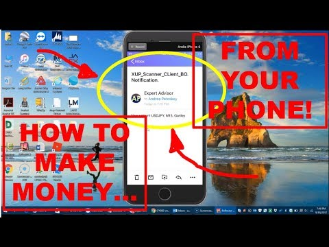 iMarketsLive IML Harmonic Scanner | How to Make Money From Your Phone!