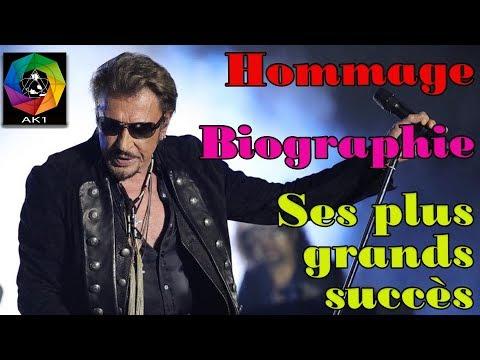 Mort de Johnny Hallyday Biographie Retour sur sa carrière et ses plus grands hits Hommage