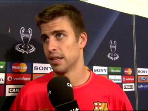 Declaraciones post final Champions League 2009 FC Barcelona - Manchester United por Canal plus