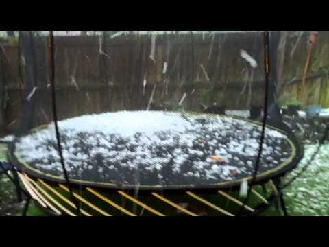 Brisbane Hail Storm Nov 18th 2012 (Westlake)