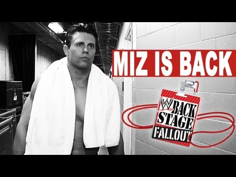 Backstage Fallout - MUST SEE RETURN - Raw - May 13, 2013