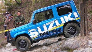 愛知スズキ 新型ジムニー  JDM 2019 Suzuki Jimny Off-road action