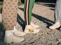 SEFFINISTO: Gucci Rhyton Logo Sneakers
