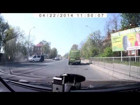 Авария в Калининграде 22 04 2014