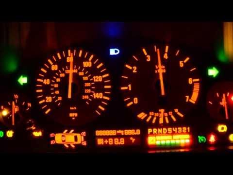 BMW E39/M5 Cluster Test Mode - Diagnostic Mode