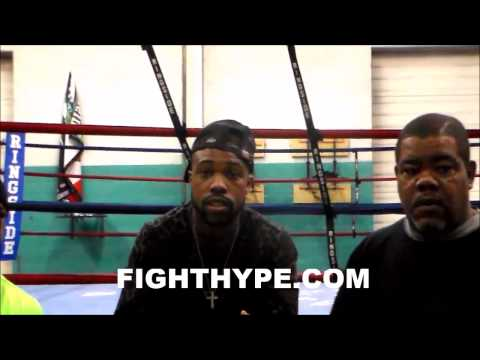 GARY RUSSELL JR EXPLAINS HOW HE FIGURES OUT OPPONENTS IN FIRST 45 SECONDS OF A FIGHT