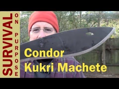 Condor Kukri Machete Review - Survival Blades