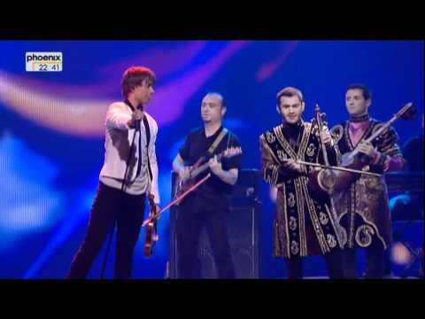 Eurovision Song Contest 2012 - interval act from the second semi final on 2012-05-24 with Dima Bilan, Marija &Aring;&nbsp;erifovi&Auml;, Alexander Rybak, Lena Meyer-Landrut a...
