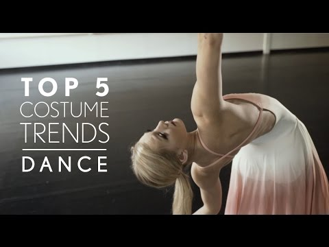 Top 5 Dance Costume Trends for 2017