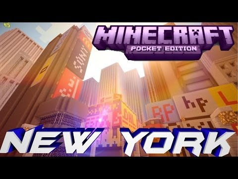 Minecraft PE New York City ! [DOWNLOAD]