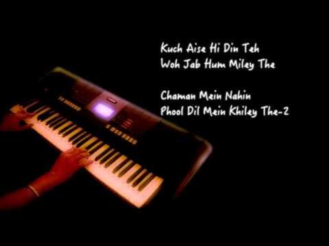 Lagi Aaj Saawan Ki Chandani Piano Cover video
