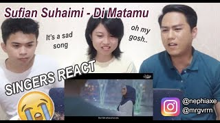 [SINGERS REACT] Sufian Suhaimi - Di Matamu (Official Lyric Video)