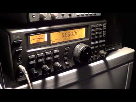 WTWW 5830 Khz with World of Radio program