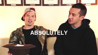 Learn the alphabet with Tyler Joseph