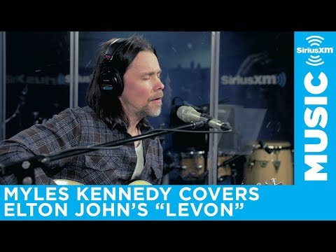 Myles Kennedy covers Elton John for SiriusXM Octane