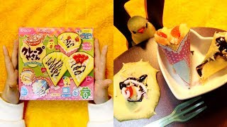 Kracie - popin' cookin'  Crepe Candy Making Kit 가루쿡 포핀쿠킨 크레페♥coco toys♥