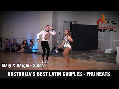 AUSTRALIA'S BEST LATIN COUPLES  - MARY & SERGIO
