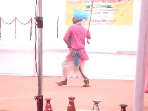 Haryanvi Folk Dance Ravi Solo 2012 video