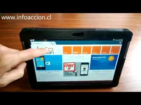 Cómo realizar una captura de pantalla en un Samsung Galaxy Tab 2