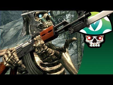 [vinesauce] Joel - Sexy Skeleton Quest ( Crazy Skyrim Mods ) video