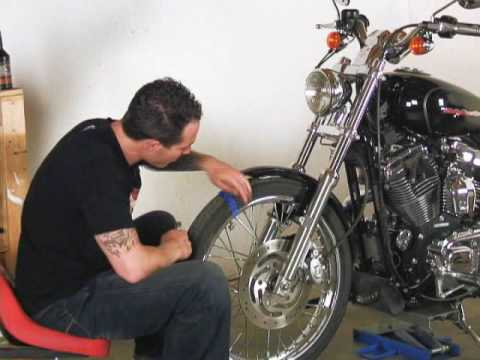 Sportster Maintenance Video Part 3 Video