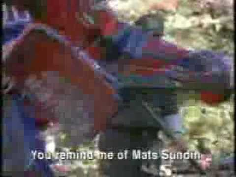 MATS SUNDIN NIKE COMMERCIAL GARDENER Video