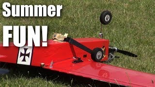 RC planes - 18 minutes of summer fun in New Zealand
