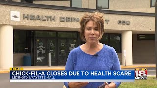 Chick-Fil-A Closes Due to Health Scare