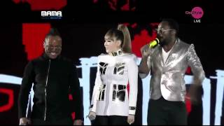 Black Eyed Peas and CL 2NE1  WHERE IS THE LOVE asian music awards 2011