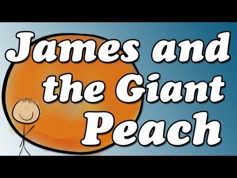James and the Giant Peach by Roald Dahl - Minute Book Report