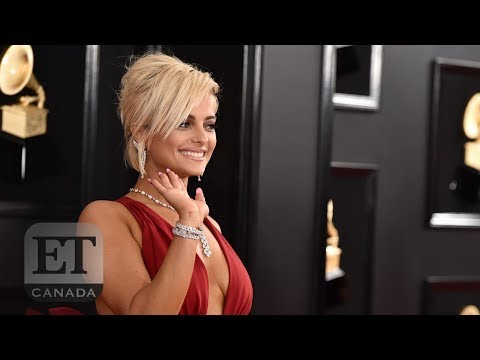 Bebe Rexha Stuns In Grammy Dress After Some Designers Didn't Want To Dress Her