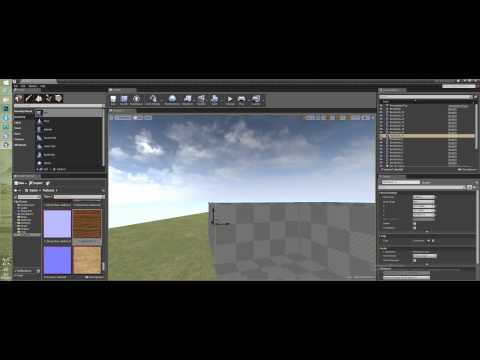 Создание уровня в Unreal Engine 4 - Строим дом из брашей