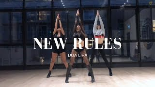 Download Lagu NEW RULES - Dua Lipa II MONICA GOLD CHOREOGRAPHY Gratis STAFABAND