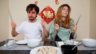 Brazilian YouTube Stars Try Traditional Chinese Food