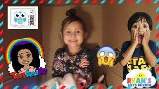 I Mailed Myself to Ryan's Toys Review and More! 4 Year old mails herself compilation