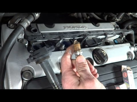 How To Change Spark Plugs In 2003-2007 Honda Accord - Tune Up