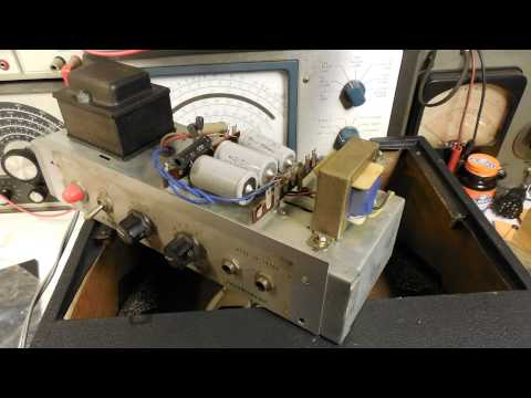 Lafayette Guitar Amplifier Restoration