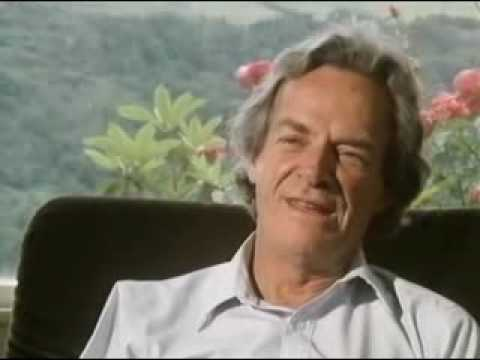 2 of 5 Richard Feynman the pleasure of finding things out