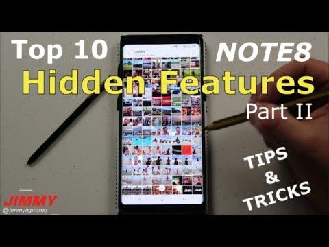 10 Galaxy Note 8 Tips. Tricks & Hidden Features [Part 2]