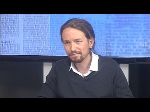 Entrevista a Pablo Iglesias en Canal 10 TV