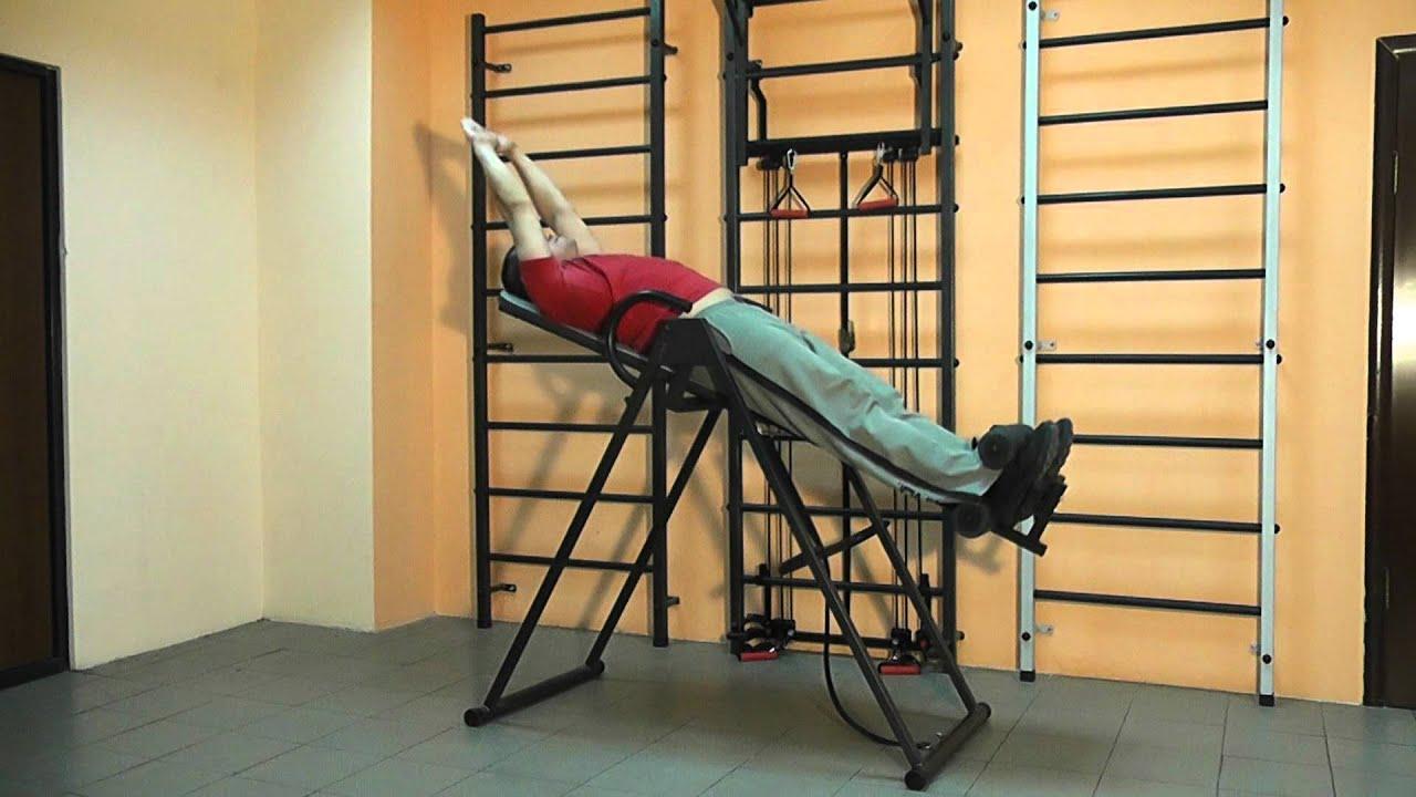 Как самому сделать тренажер для спины