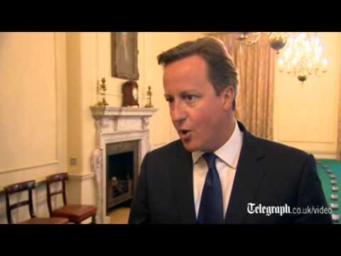 David Cameron condemns 'barbaric' killing of James Foley