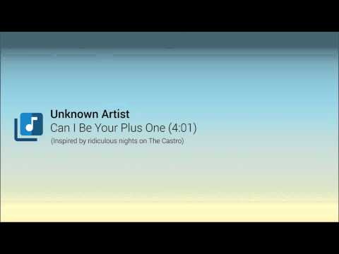 Unknown Artist - Can I Be Your Plus One