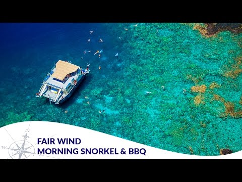 Fair Wind II - Morning Snorkel Cruise & BBQ