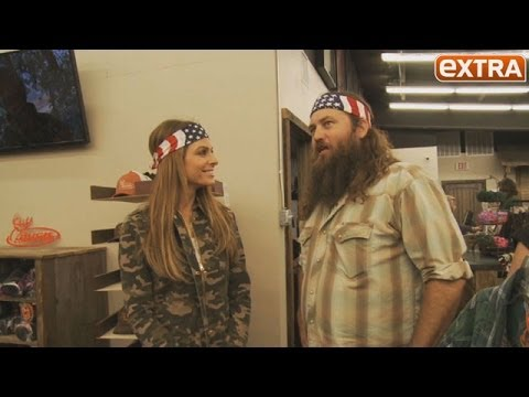 police duck dynasty mania maria menounos tours duck commander hq